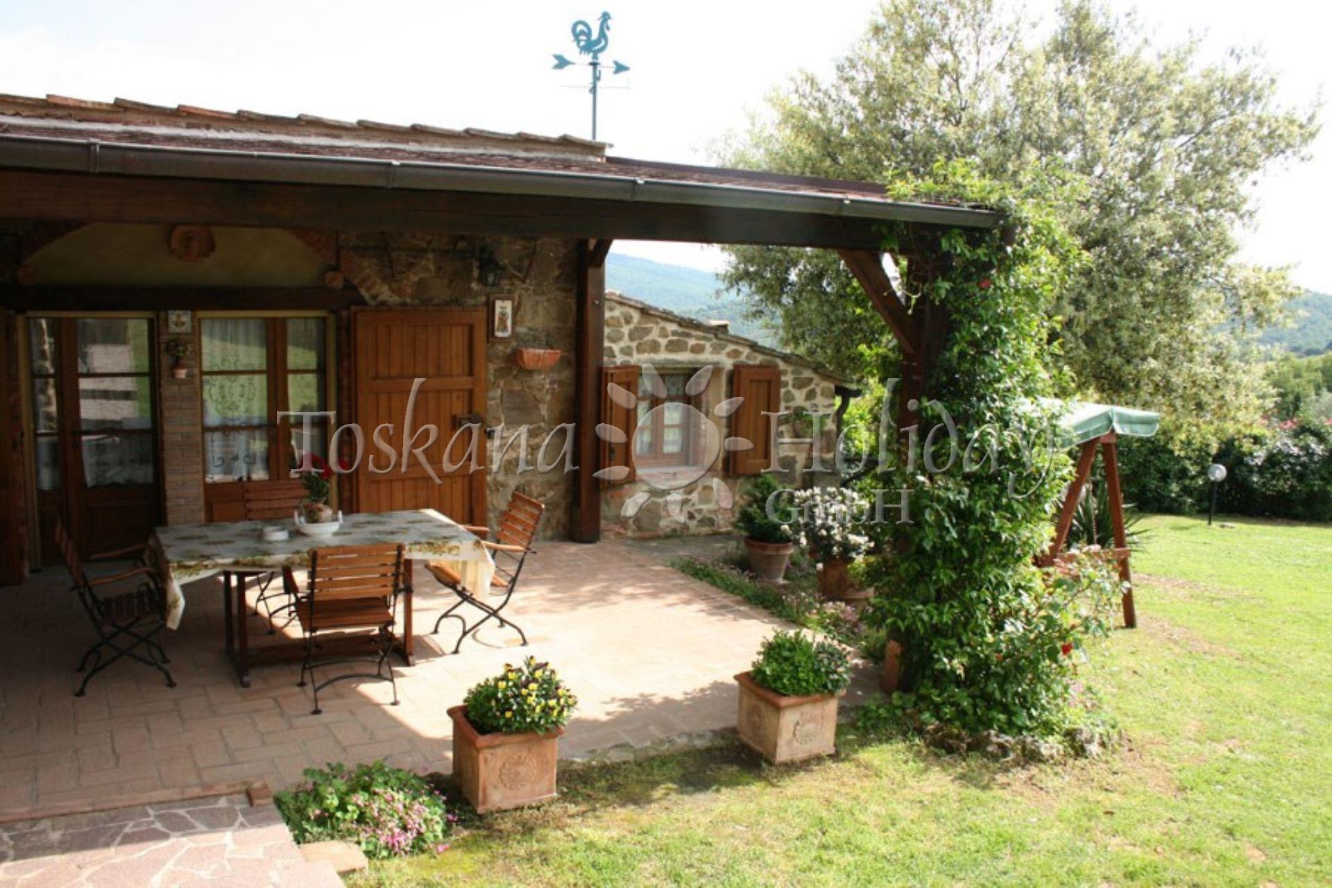 Gepflegtes ferienhaus in der toskana mit pool garten gute ausstattung 6 bis 8 personen - Toskana garten ...